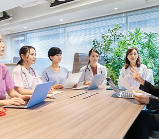 医師/看護師の採用体制構築・イメージ